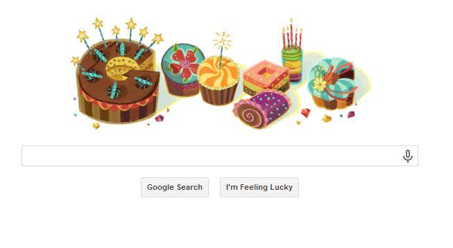 Google wished me a happy birthday