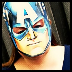 Christy as Captain America #AvengersUnite