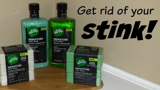 Get rid of your stink #MySignatureMove