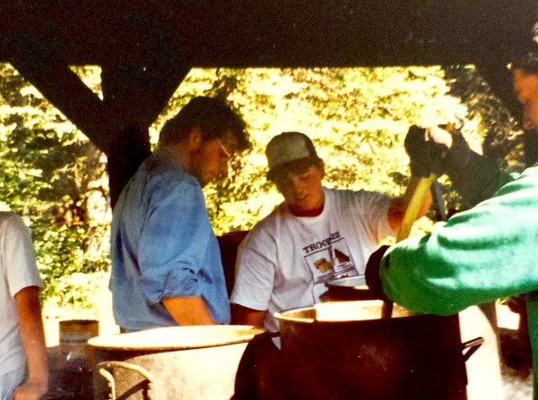 Chuck Wagon at Beaubien Camp at Philmont Scout Ranch 1995