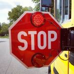 Please stop running bus stop signs.
