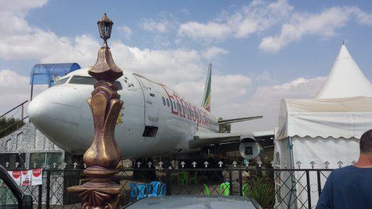 Airplane Restaurant in Ethiopia