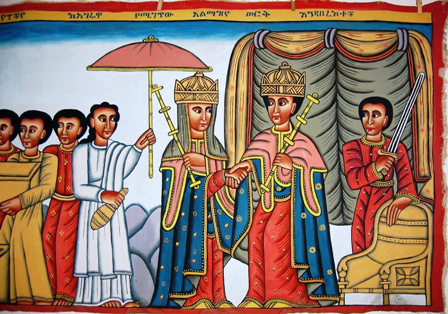 Queen of Sheba in Ethiopia
