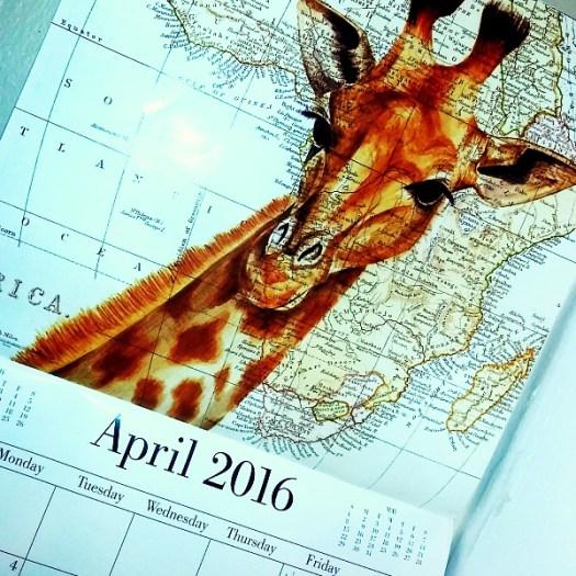 Calendar #AtoZChallenge