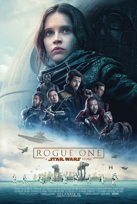 Rogue One a Star Wars Story movie Poster