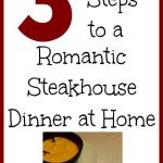 3 easy steps to a romantic steakhouse dinner at home