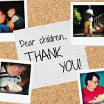An open letter to my children: Thanks