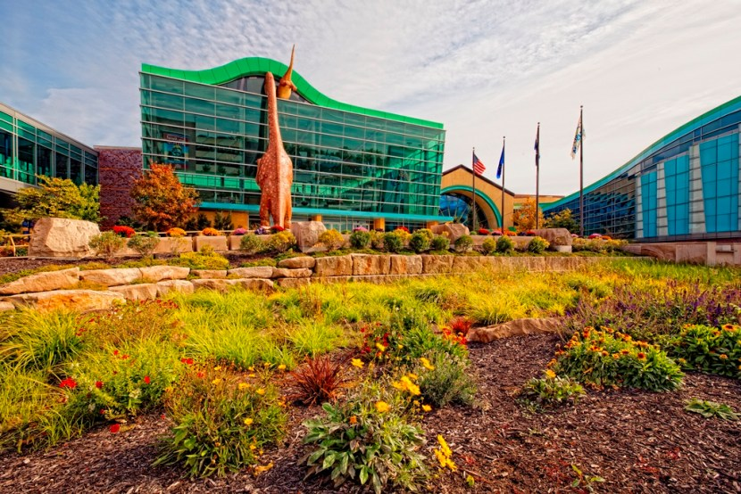 Exterior of The Children's Museum of Indianapolis #TCMIndy