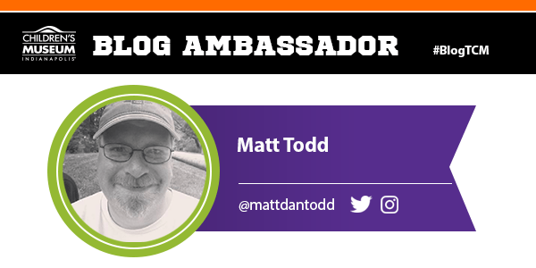 I was a blog ambassador for the Children's Museum of Indianapolis #BlogTCM #atTCM