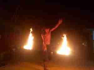 7 Island Tour Fire Show