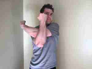 Rear Shoulder Stretch 2