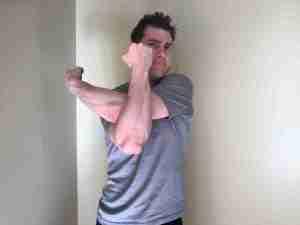 Rear Shoulder Stretch 2