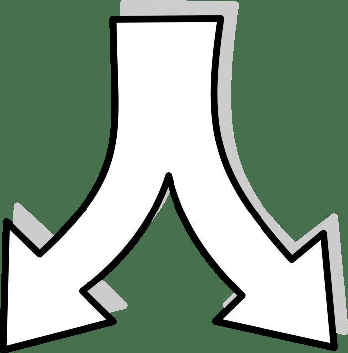 Arrows Diverge