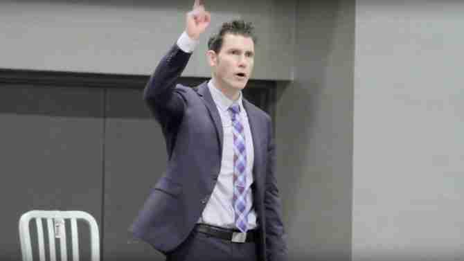 Matt Raising One Finger