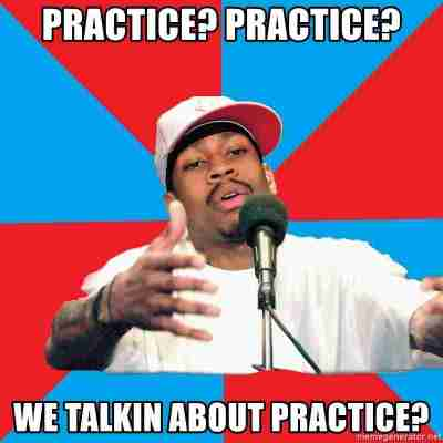 "Allen Iversion saying ""Practice?  Practice?  We talkin about practice?"""