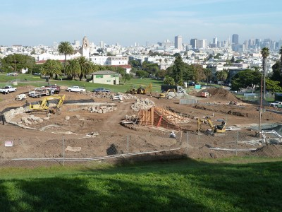 Dolores Park upgrade