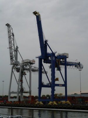 Rotterdam cranes