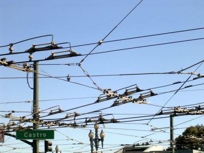 Castro Street wires