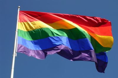Gay Freedom Flag over the Castro
