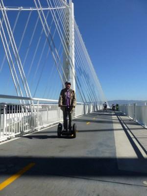 Matte on the Bay Bridge