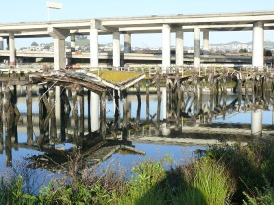 Islais Creek Channel pier