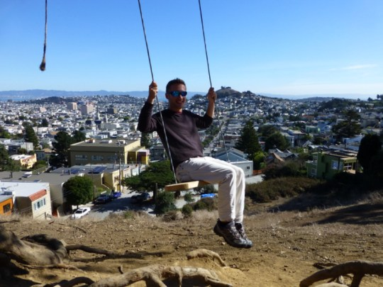 Billy Goat Hill swing
