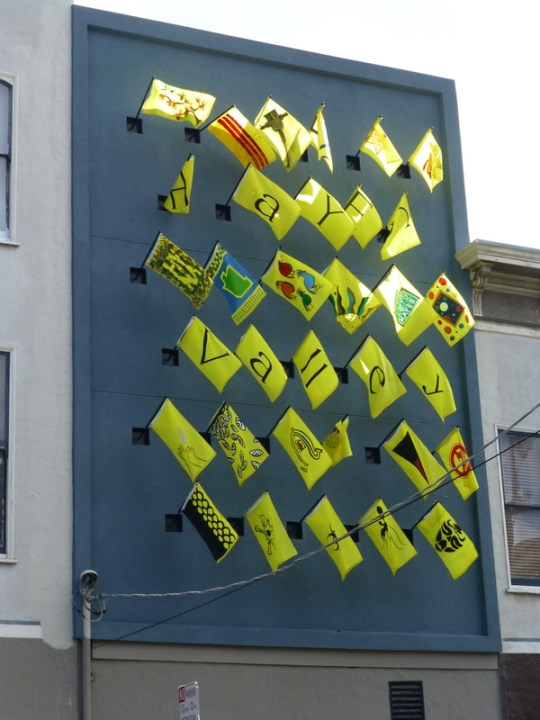 Hayes Valley Flags