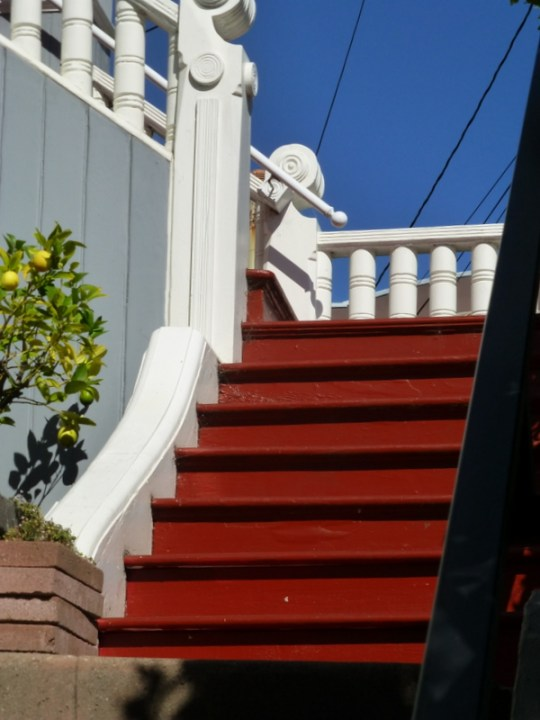 Castro Street steps