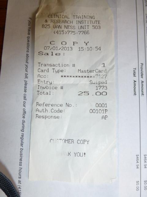 07/01/13 receipt