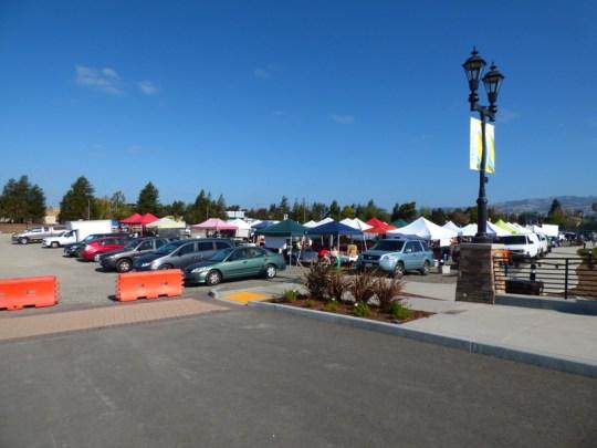 McDowell Street farmers' market
