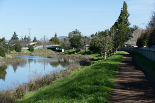 Lynch Creek Trail between Payran and Lakeville Streets