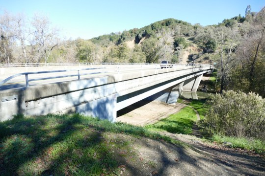 Russian River bridge at Talmage Road east of Ukiah
