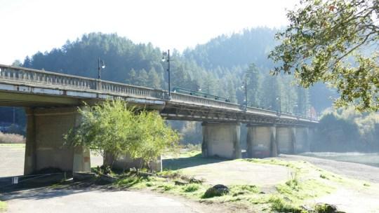 Russian River bridge Monte Rio