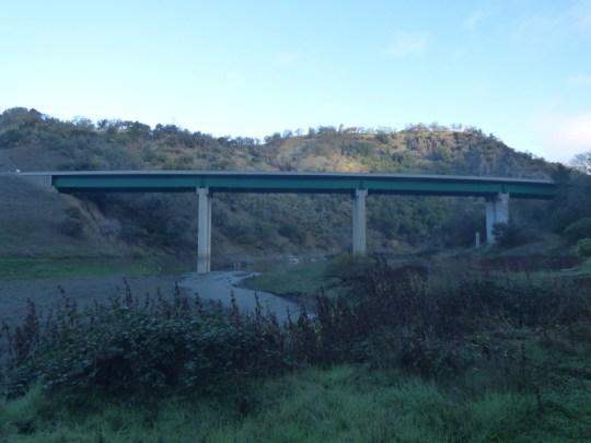 East Fork Russian River bridge on CA-20