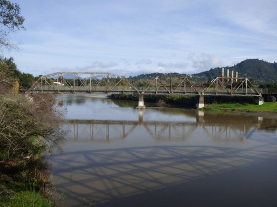 Healdsburg railroad bridge