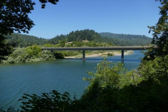 Duncans Mills bridge