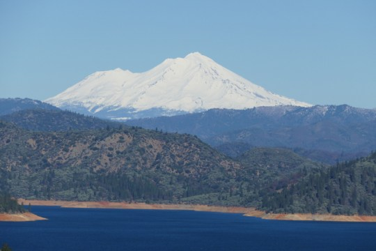 Mt. Shasta over Lake Shasta