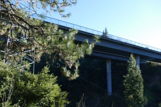 I-5 bridge near Gibson