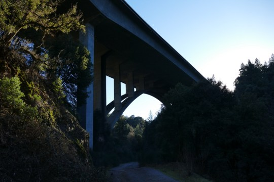 I-5 bridge over Dog Creek
