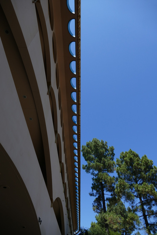 Marin County Civic Center - roof detail