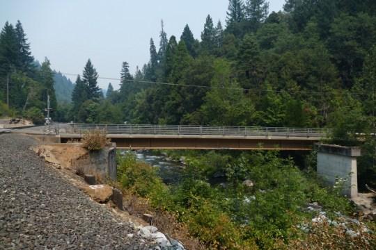 Sacramento Avenue Bridge in Dunsmuir