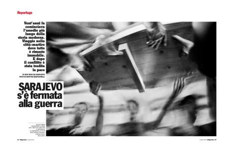 "April 2012 - ""The Bosnian Identity"" published in L'Espresso magazine."