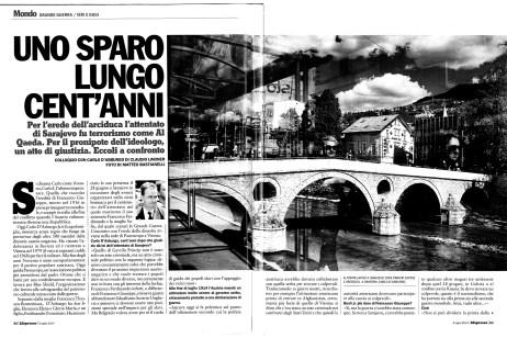 "June 2014 - ""Bosnian diaries"" published in L'Espresso magazine."