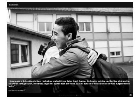 """July 2015 - """"Souls of Syrians"""" published in Der Spiegel."""