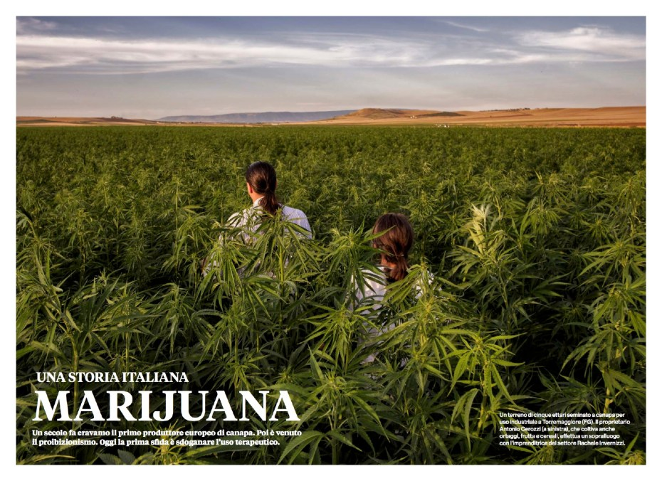 """June 2017 - My long-term project """"Green Gold"""" published as cover story of June's issue of National Geographic Italy."""