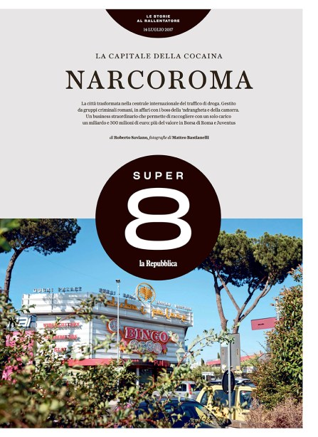 July 2017 - Assignment for Super 8-La Repubblica, published both in the online and printed version, text by Roberto Saviano.