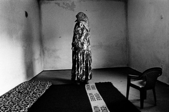 A widow in her house. Cerska, Serb Republic of Bosnia and Herzegovina, 2009. © Matteo Bastianelli