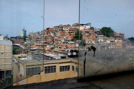 A view of the favela of Cantagalo. Rio de Janeiro, Brazil 2015. © Matteo Bastianelli