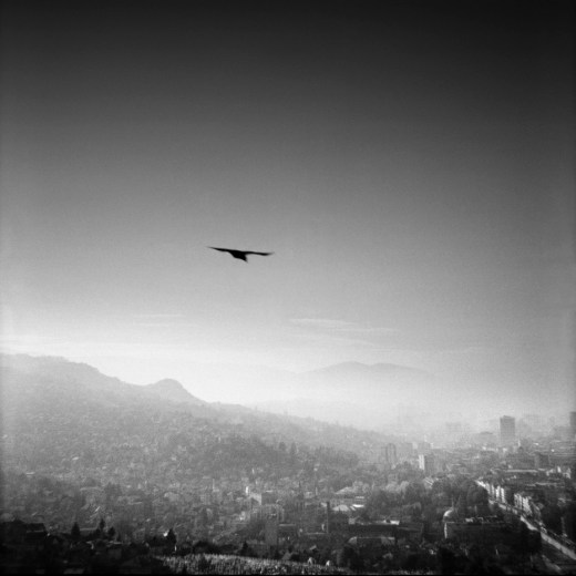 A view of the city. Sarajevo, Bosnia and Herzegovina, 2009. © Matteo Bastianelli