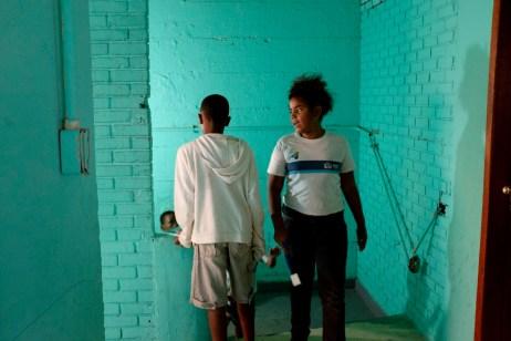 Some children at school in the favela of Cantagalo. Rio de Janeiro, Brazil 2015. © Matteo Bastianelli